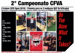 2° Campeonato Crossfit Vale do Ave